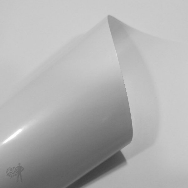 BOPP Adesivo Branco Brilho - Laser - Alto Desempenho - A4 - 210x297mm