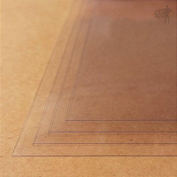 Acetato Transparente - 250 Micra - A4 - 210x297mm
