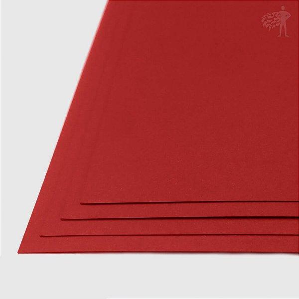 Papel Color Plus - Tóquio - Vermelho - 240g - A3 - 297x420mm