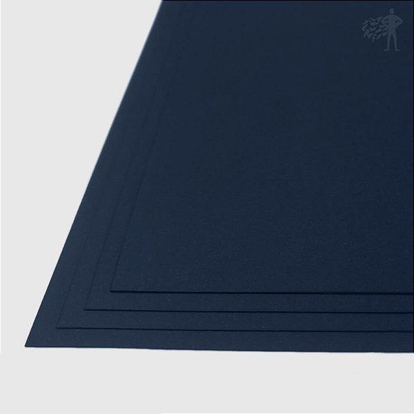 Papel Color Plus - Porto Seguro - Azul Marinho - 240g - A3 - 297x420mm
