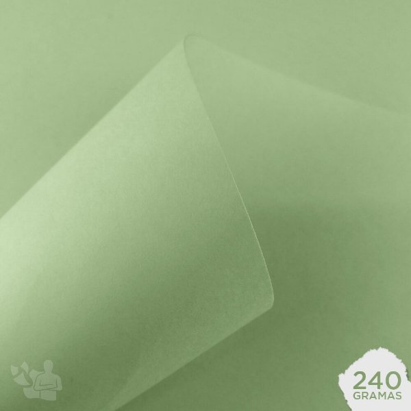 Papel Candy Plus - Limão - 240g - A3 - 297x420mm