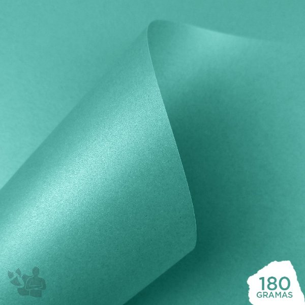 Papel Perolizado - Tiffany - 180g - A4 - 210x297mm
