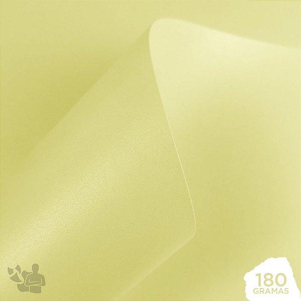 Papel Perolizado - Champanhe - 180g - A4 - 210x297mm