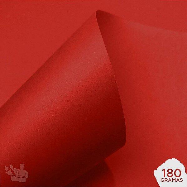 Papel Color Plus - Tóquio - Vermelho - 180g - A4 - 210x297mm