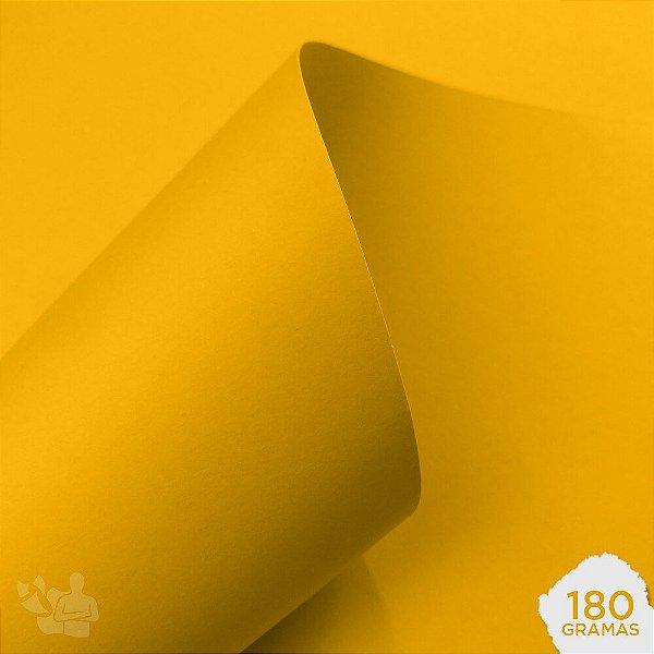 Papel Color Plus - Rio de Janeiro - Amarelo - 180g - A4 - 210x297mm