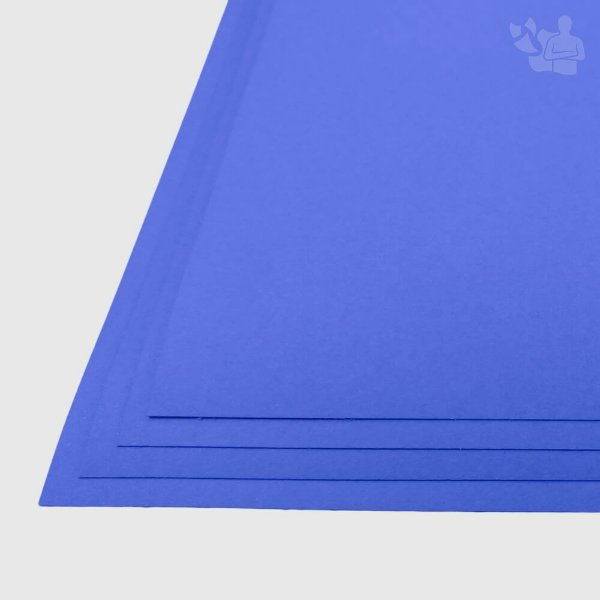 Papel Color Plus - Grécia - Azul Royal - 180g - A3 - 297x420mm