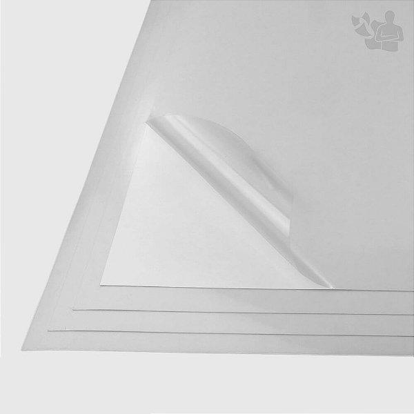 PP Adesivo Transparente - Laser - Fasson - SRA3 - 320x456mm