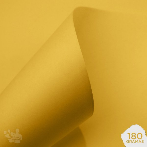 Papel Candy Plus - Abacaxi - 180g - A4 - 210x297mm