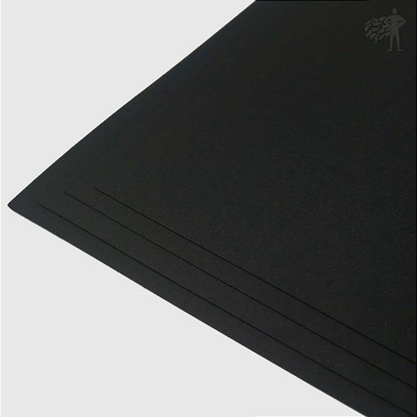 Papel Color Plus - Los Angeles - Preto - 180g - A3 - 297x420mm