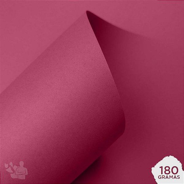 Papel Color Plus - Cancún - Pink - 180g - A4 - 210x297mm