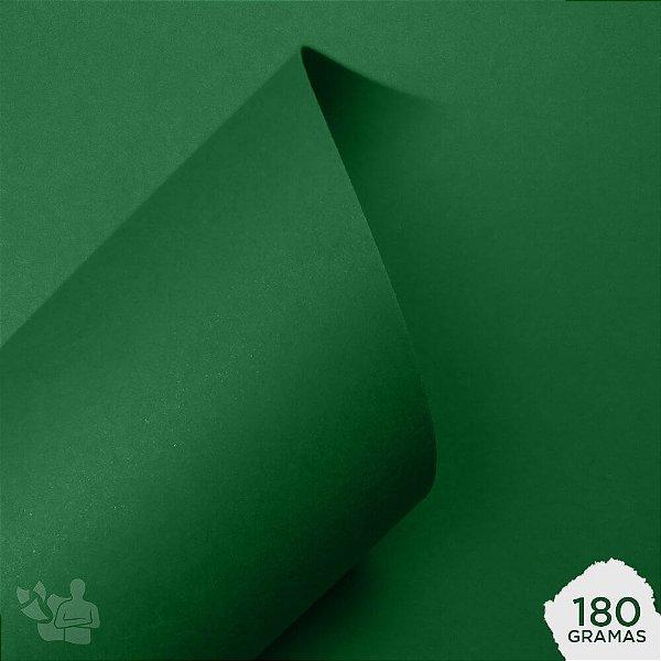 Papel Color Plus - Brasil - Verde Bandeira - 180g - A4 - 210x297mm