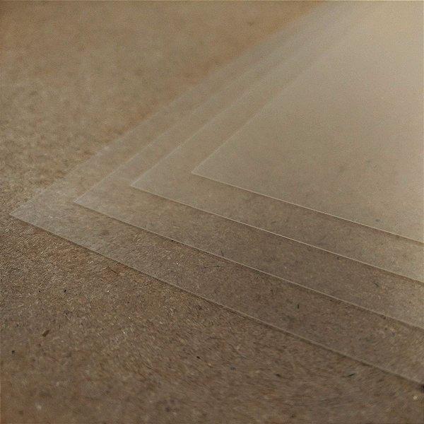 PVC Transparente - 200 Micra - Laser - A4 - 210x297mm