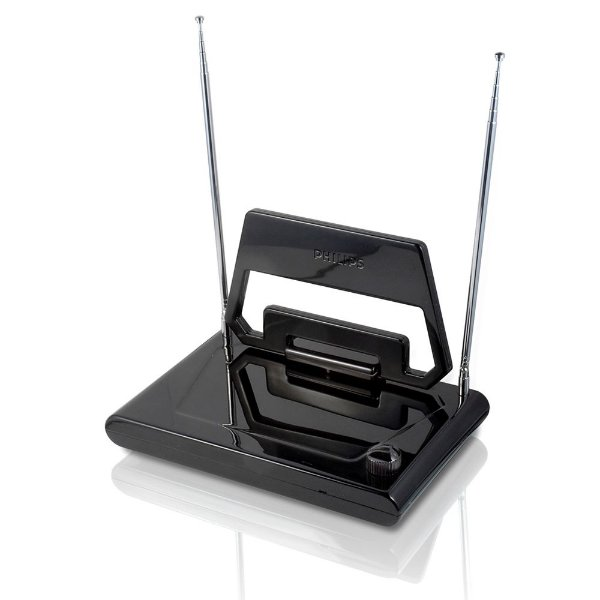 Antena Interna Passiva para TV Digital/UHF/VHF/FM SDV1125T/55 - Philips