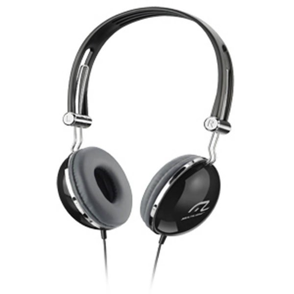 Fone de Ouvido Multilaser Headphone Vibe Preto design Retrô P2 - PH053