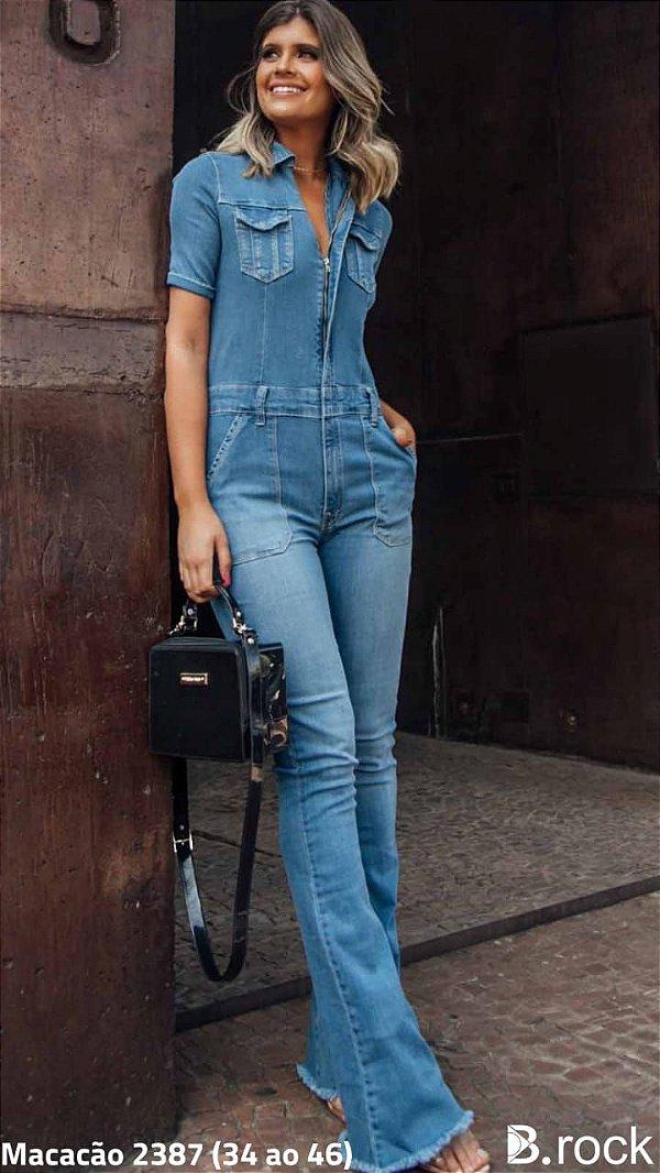 Macacão Jeans Alice