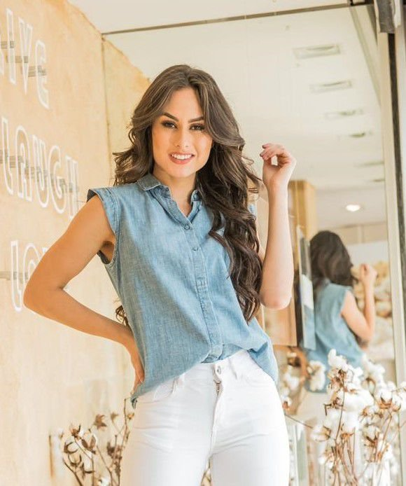 Camisa Jeans Andréa