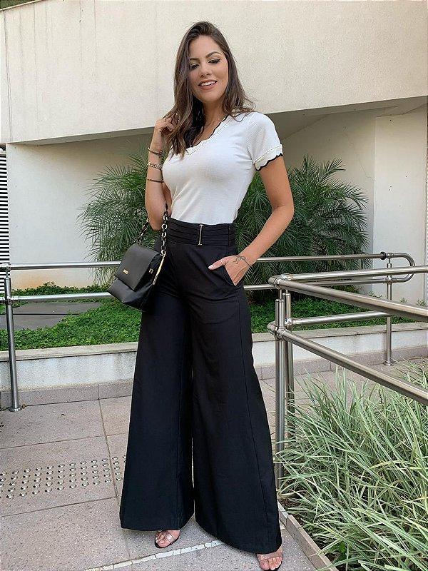 Calça Pantalona Alicia
