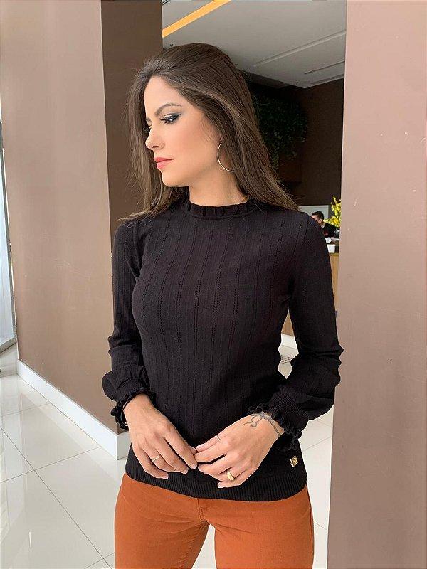Blusa Tricô Sheila