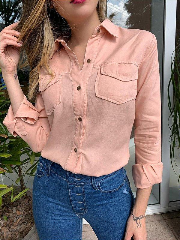 Camisa Jeane Rosé