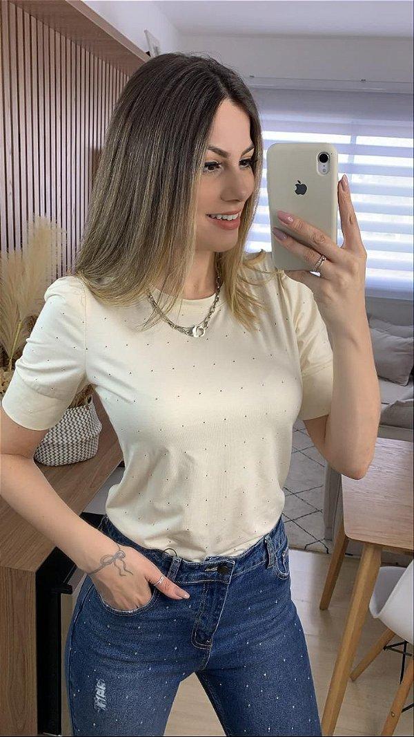 T-shirt Lúcia Areia