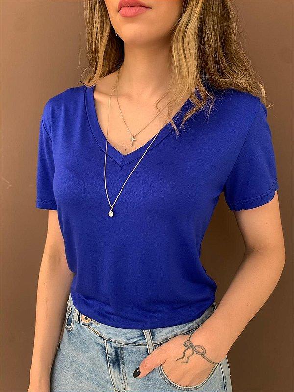 T-shirt Essential Gola V - Azul