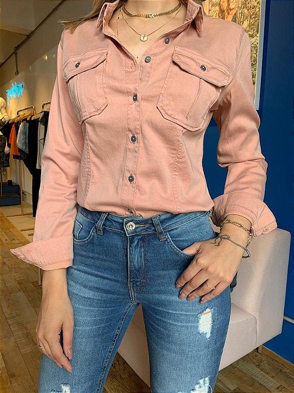 Camisa Jeans Color Gisele