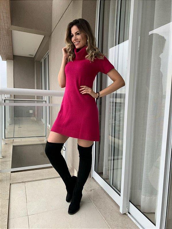 Vestido Tricot Color Mara Pink