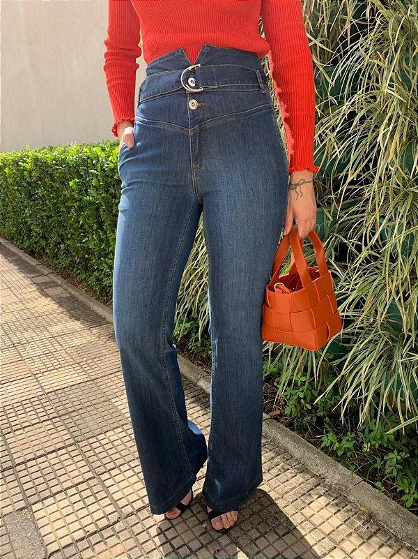 Calça Pantalona Clochard Alana
