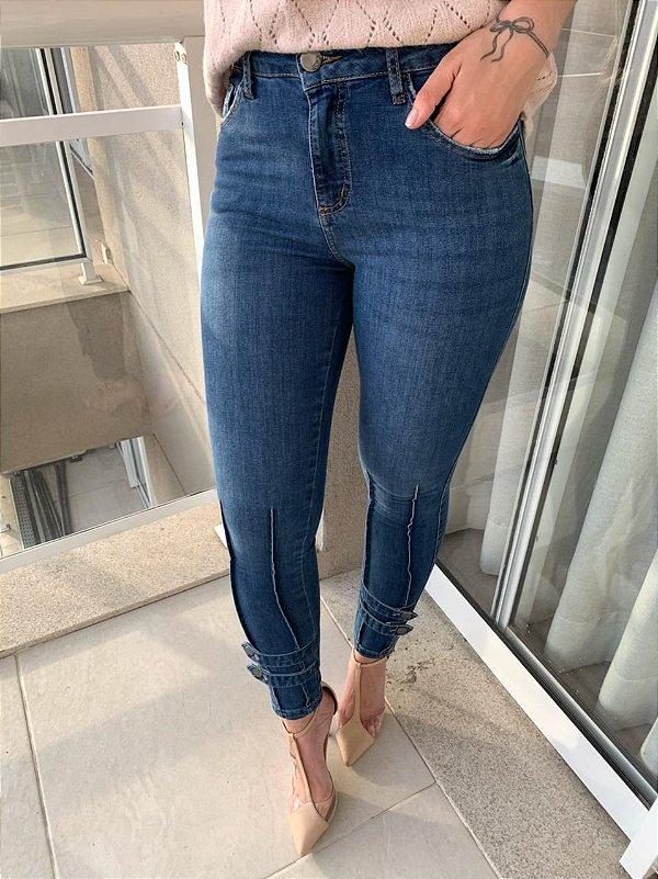 Calça Skinny Cropped Laurena