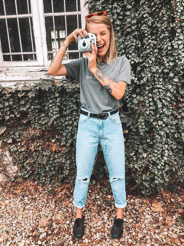 Calça Mom Jeans Lady Rock