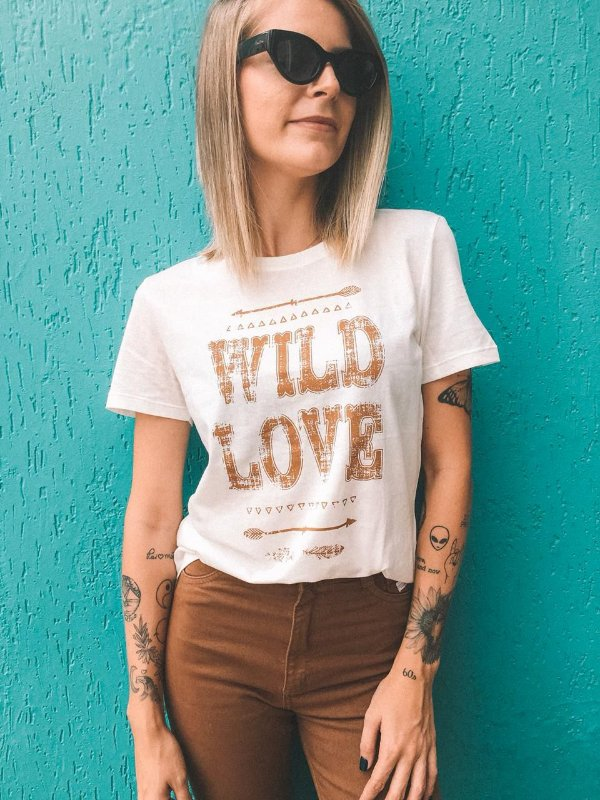 T-Shirt Wild Love
