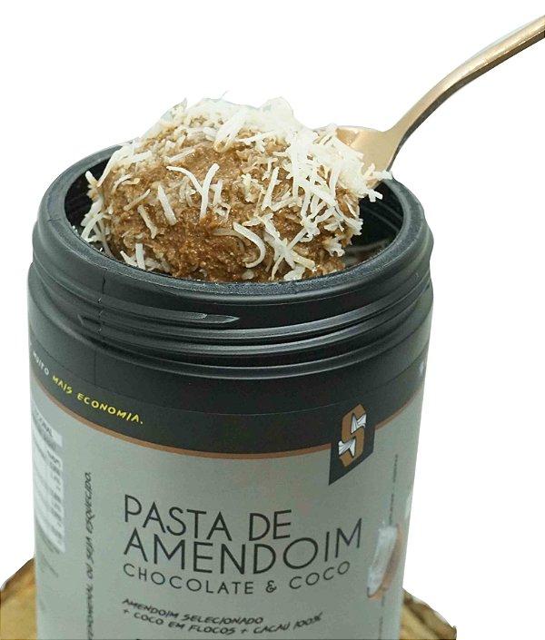 Combo 4x Pasta de Amendoim Chocolate & Coco 1kg - Squeeze