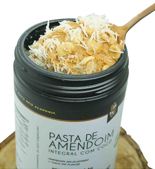 Combo 4x Pasta de Amendoim Integral com Coco 1kg - Squeeze