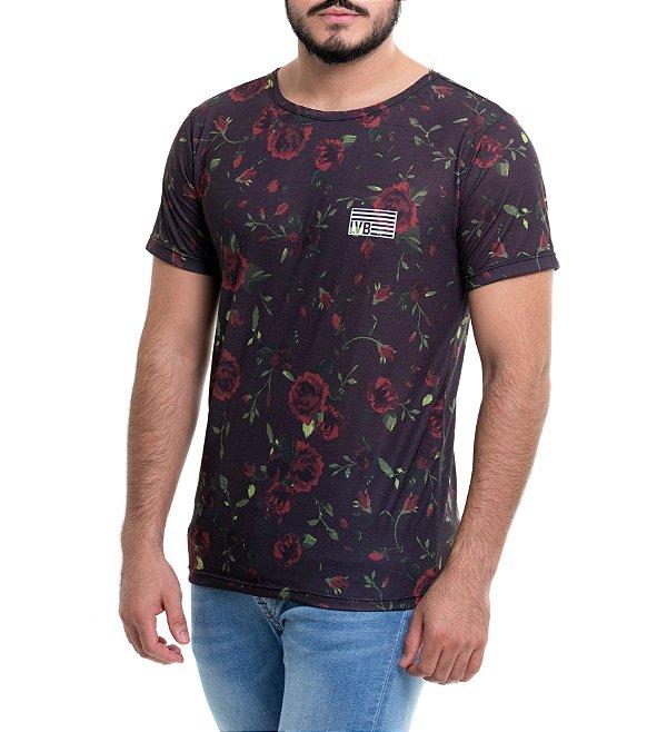 Camiseta Masculina LAVIBORA - Roses