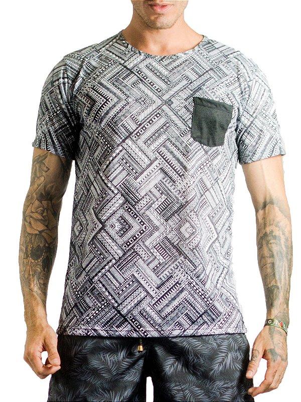 Camiseta Masculina - Etnica