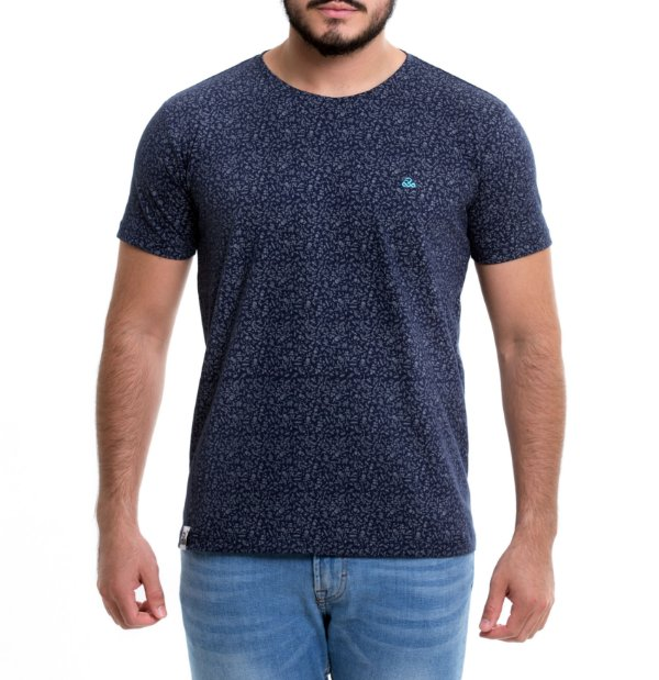 Camiseta Masculina - MiniSkullz Blue