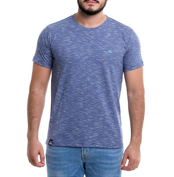 Camiseta Mescla - Listraz Blue Snake