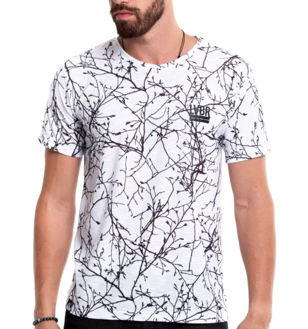 Camiseta Estampada - Nature