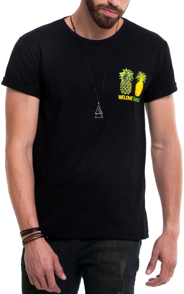 Camiseta de Algodão - We Love Summer