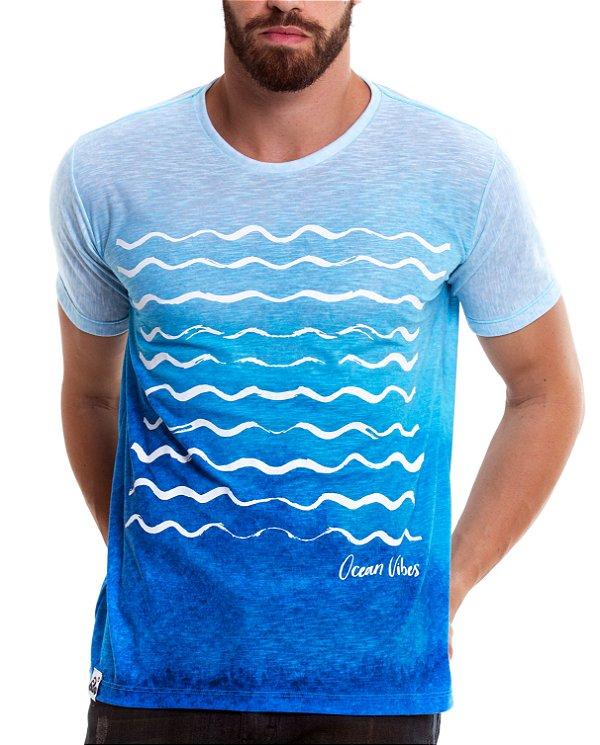 Camiseta Estampada - Ocean Vibes