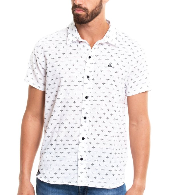 Camisa Estampada - Cross
