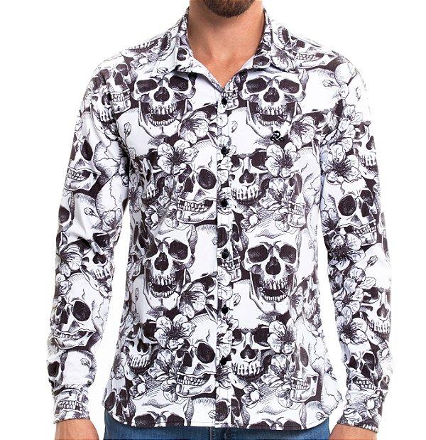 Camisa Manga Longa - Skullz