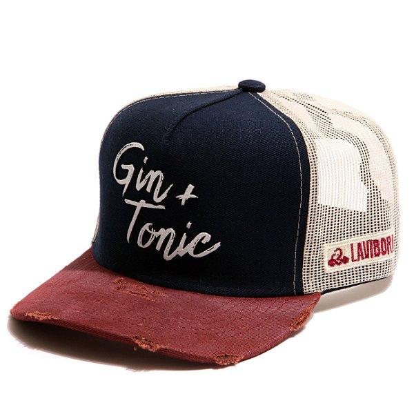 Boné Trucker - Gin Tonic