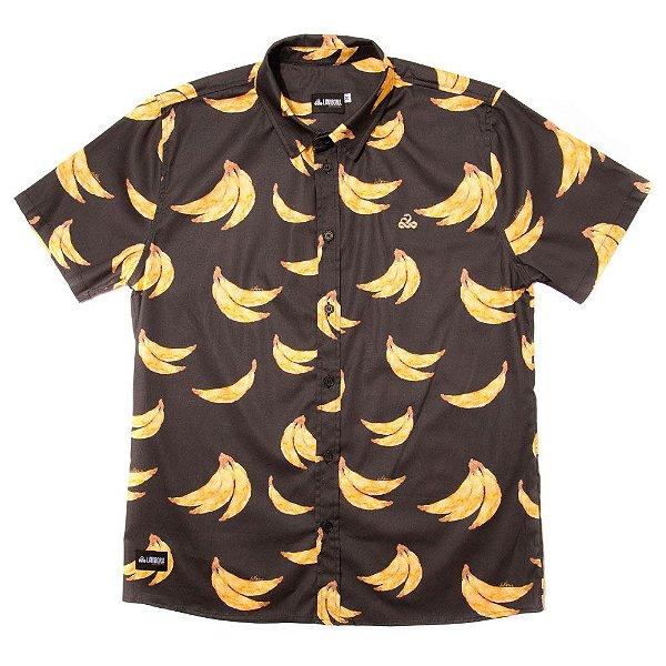 Camisa Estampada Tricoline - Bananas