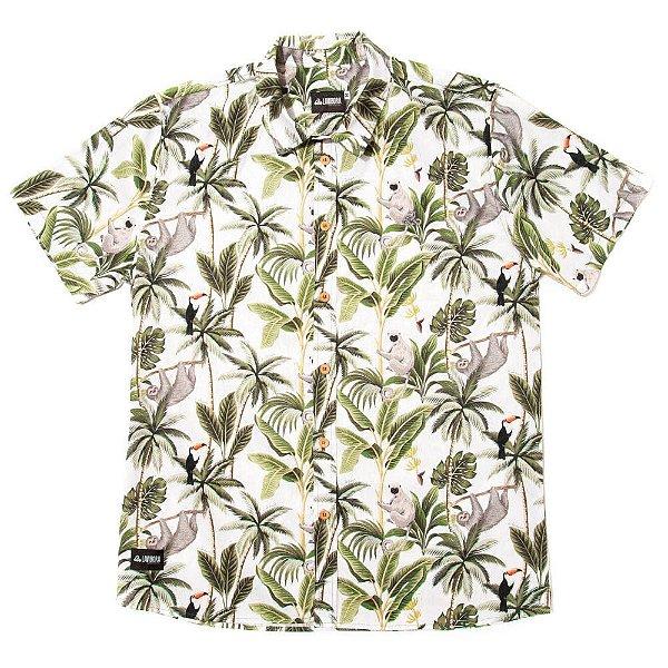 Camisa Estampada Tricoline - Jungle