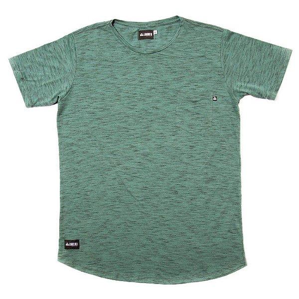 Camiseta Longline Flamê - Green