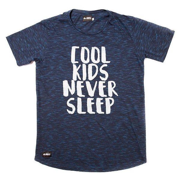 Camiseta Flamê Longline - Never Sleep