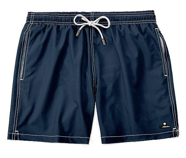Shorts Praia Masculino Liso LaVibora - Azul