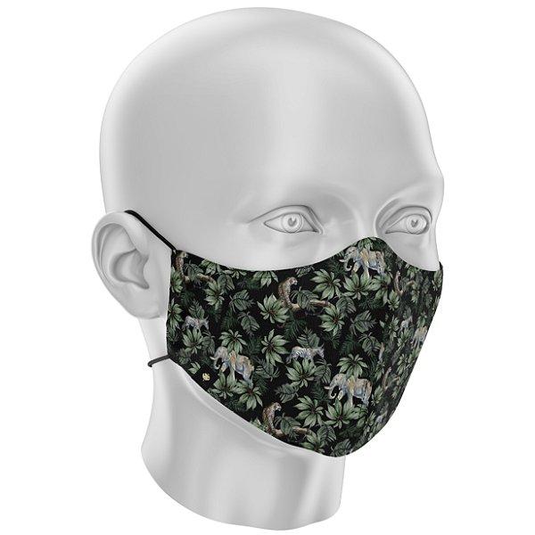 """Máscara de Tecido """"Estilo Ninja"""" Dupla Camada 100% Algodão LaVíbora - Amazonia"""