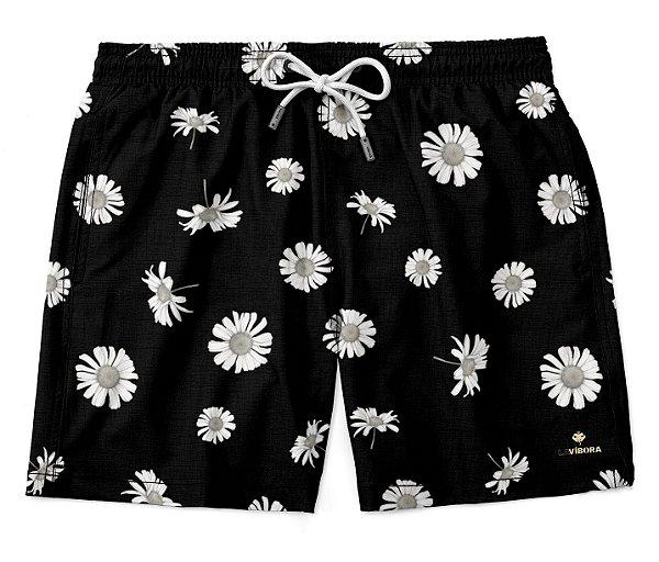 Shorts Praia Masculino Estampado LaVíbora - Daisy
